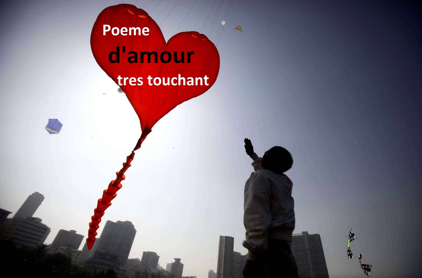 Poeme Damour Tres Touchant Mot Damour