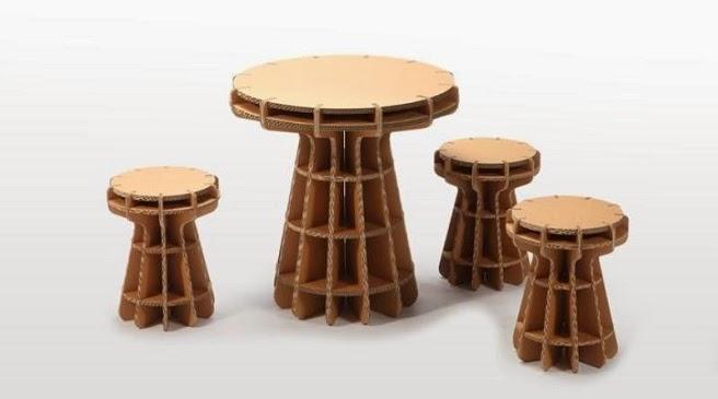 Apuntes revista digital de arquitectura mobiliario for Hacer muebles con carton