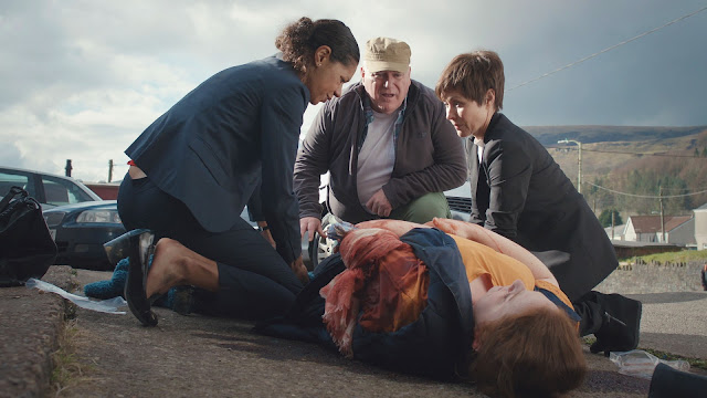 Casualty, BBC, Series 32, Episode 39, episode review, Elle, Connie, Jaye Griffiths, Amanda Mealing