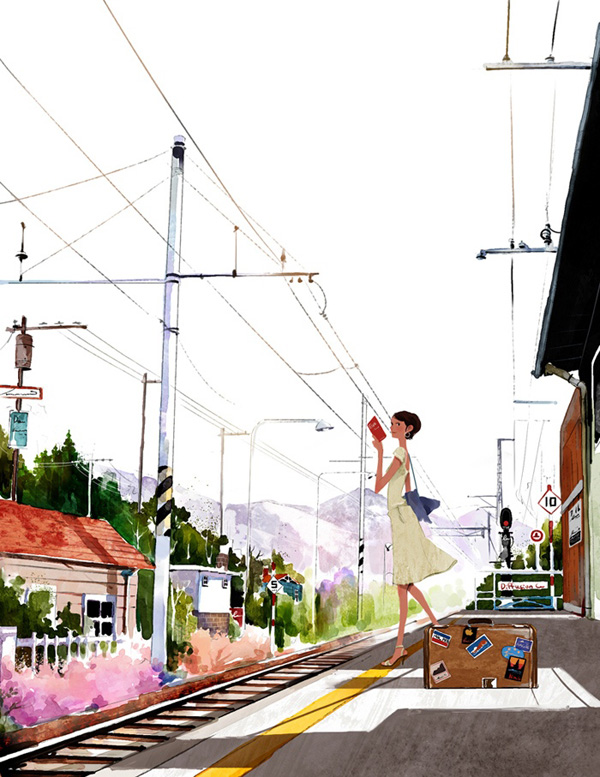 Lovely Illustrations By Ji Hyuk Kim