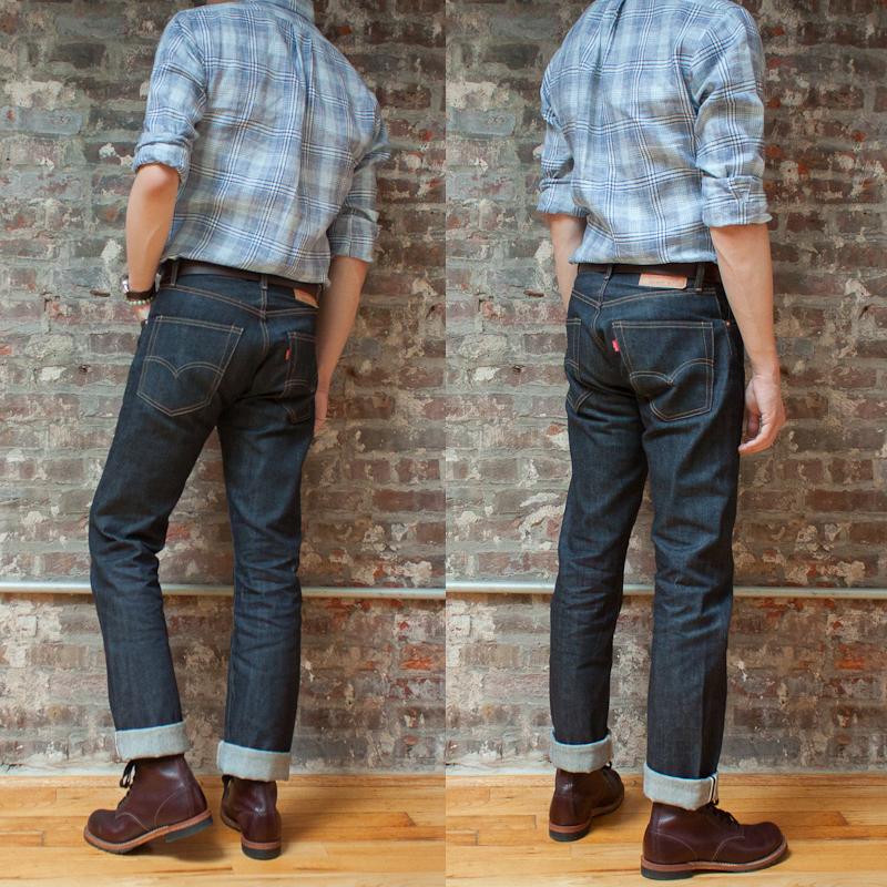 first impressions levi 39 s vintage clothing 1967 505 rigid jeans. Black Bedroom Furniture Sets. Home Design Ideas