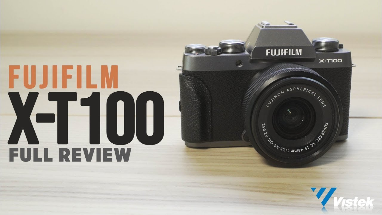 FujiFilm X T100 Review