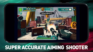 Major GUN FPS endless shooter Mod 3.7.8 Apk Infinite Coins Terbaru