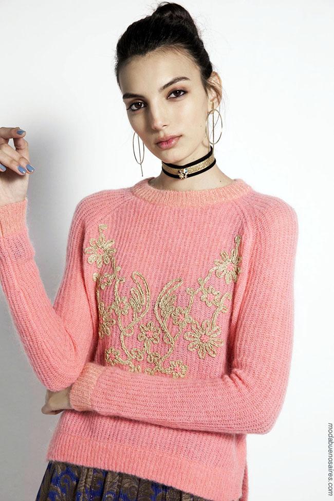 Sweaters invierno 2018 moda mujer.