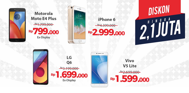 Erafone - Promo Clearance Sale  s.d 86% di Erafone Mall Ciputra Jakarta (s.d 11 Nov 18)