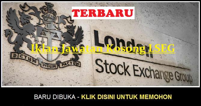 Jawatan Kosong London Stock Exchange Group (LSEG) apply job here