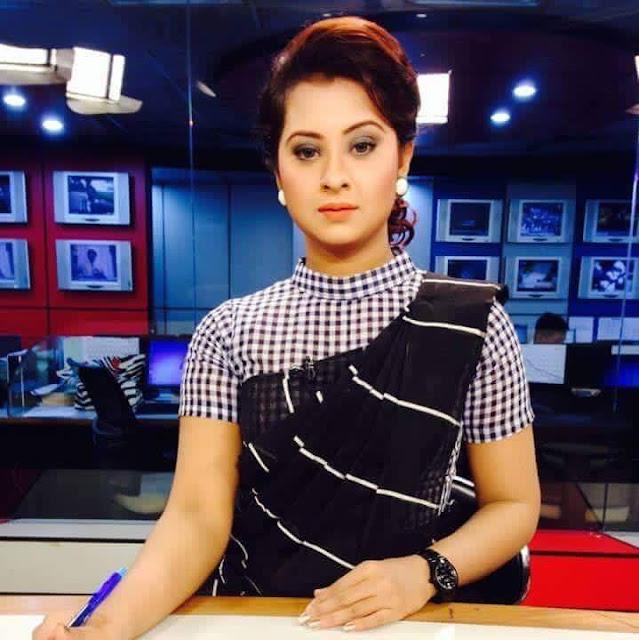 Shobnom Bubly Bangladeshi Actress Biography, Hot Photos As News Reader