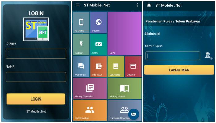 st mobile top up pulsaku - aplikasi android untuk transaksi pulsa, bisnis pulsa, software aplikasi android gratis untuk bisnis pulsa, aplikasi pulsa all operator