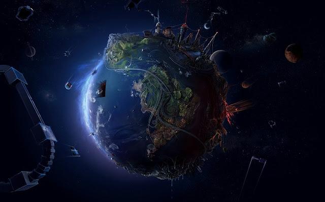 Penampakan Planet Bumi Jika Kamu Bekerja Dalam Stasiun Luar Angkasa
