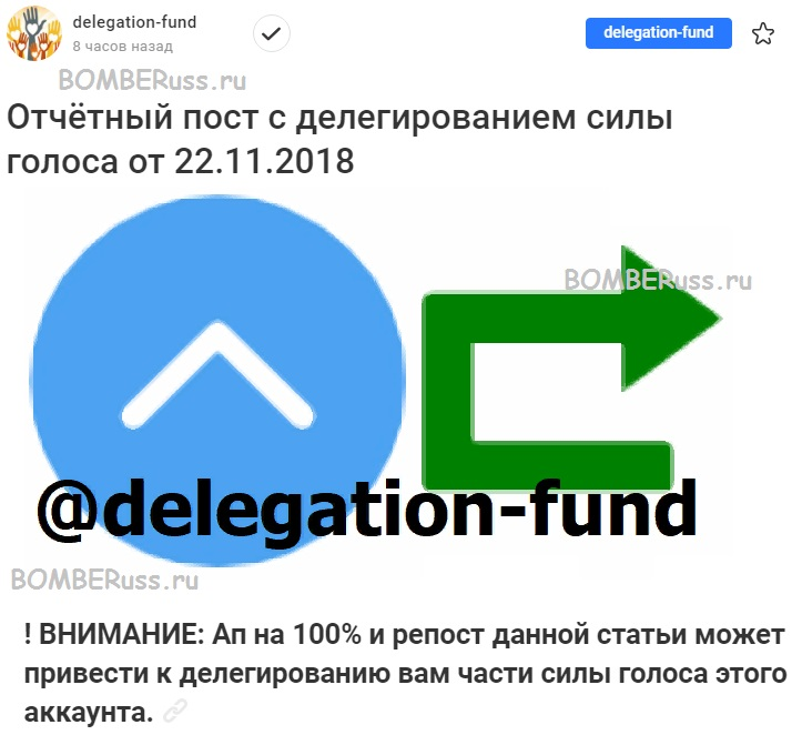 делегирование СГ