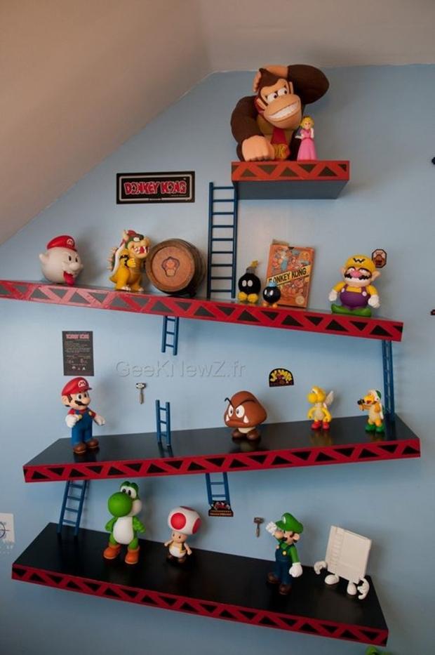 quarto donkey kong, inspiração para decorar o quarto