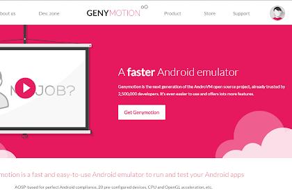 Menghubungkan Android Studio Dengan Emulator Genymotion