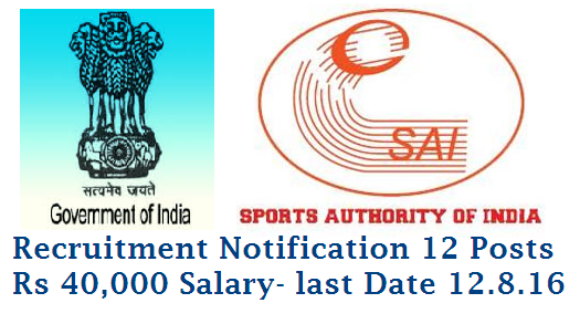 SAI Sports Authority of India Recruitment Notification for Young Professionals