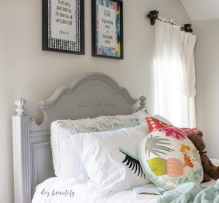 art for teen bedroom  |  diy beautify