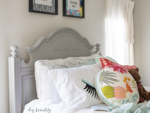 Affordable DIY Art for a Teen Bedroom