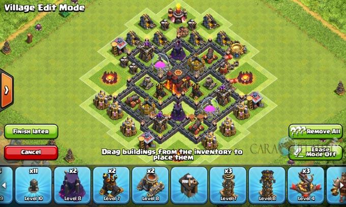 pertahanan terbaik untuk base war th 6 di clash of clans 25