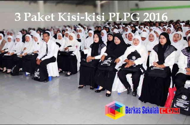 Download 3 Paket Kisi-Kisi PLPG Tahun 2016 dalam Format Rar