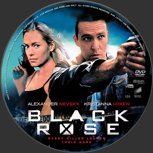 Black Rose (scan) DVD Label