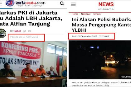 Benarkah Apa Yang Dikatakan Ustadz Alfian Tanjung, Kini Benar Terbukti, LBH Markas PKI??