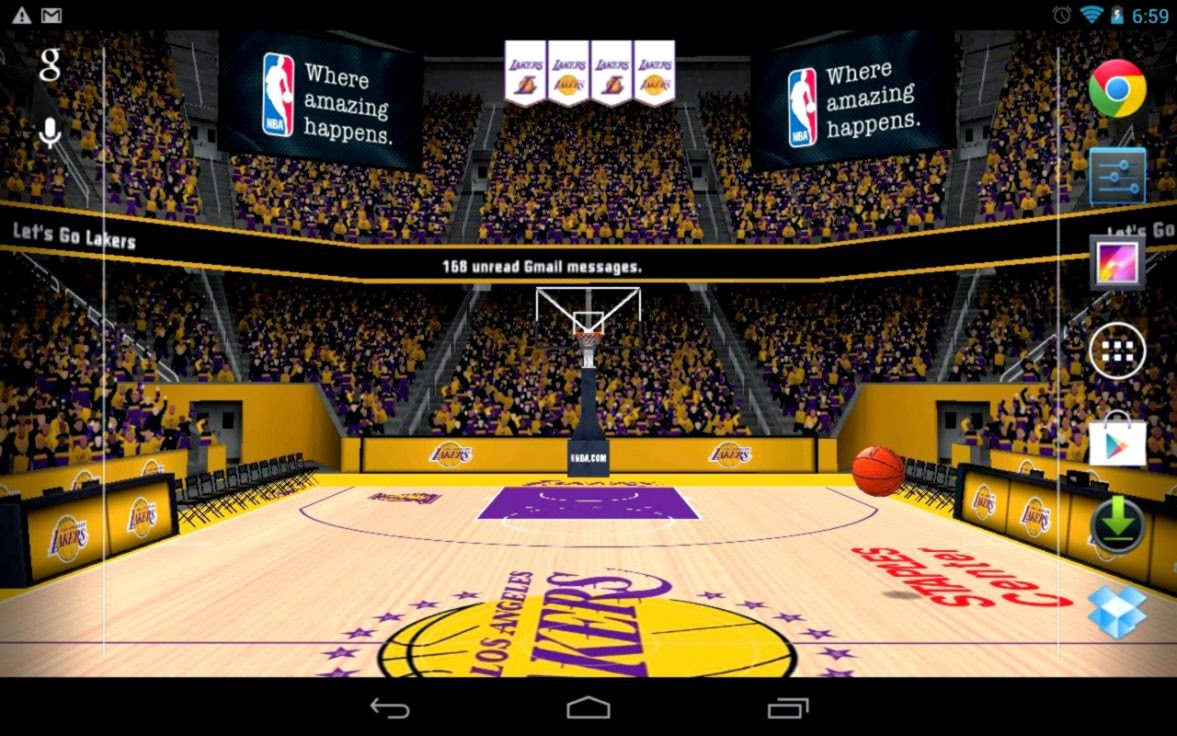 Nba Wallpapers For Android: Lakers Live Wallpaper