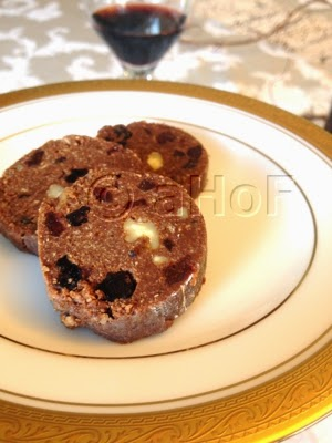 """Chocolate """"Salami"""""""
