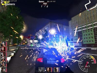 午夜狂飆(Night Watch Racing),聲光效果相當夢幻的賽車競速遊戲!