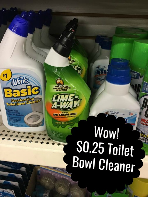 graphic regarding Printable Dollar Tree Coupons identified as Greenback Tree: Lime-A-Course Rest room Bowl Cleaner $0.25 with fresh new