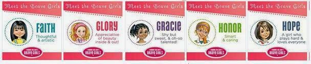 brave girls bible stories girls