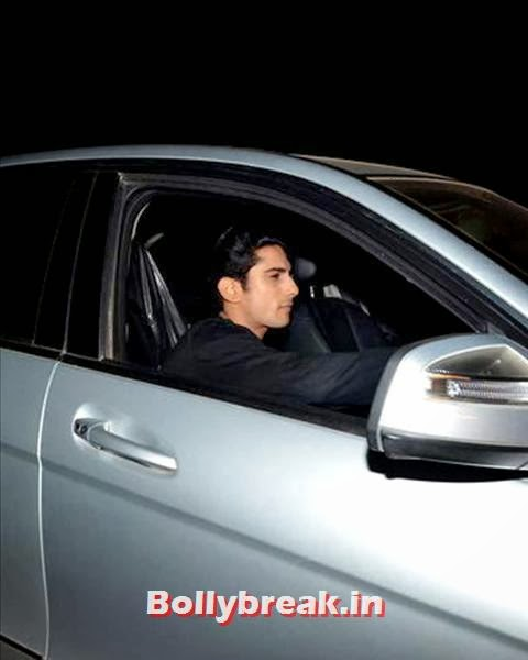 Prateik Babbar attends Salman's birthday bash, Salman Khan Birthday bash Pics