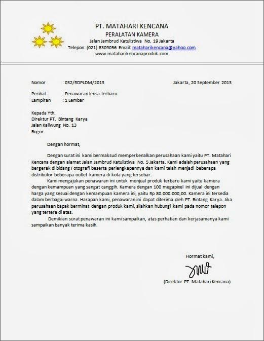 Contoh Proposal Penawaran Produk Pdf Editor Staffmondo