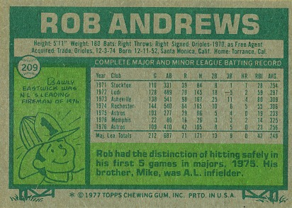 Baseball 1977