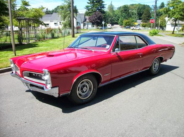 pontiac gto tri power  sale buy american muscle car