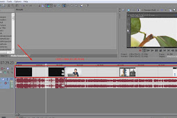 Cara menggabungkan video dengan Sony Vegas Pro