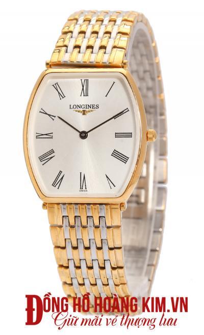 đồng hồ nam longines mới mặt vuông