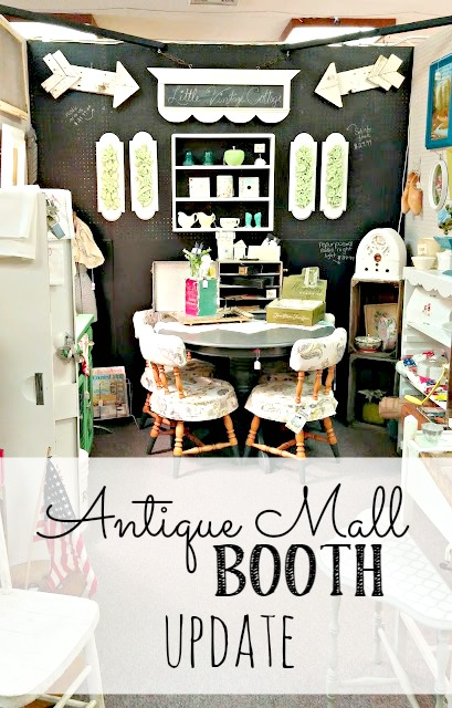 Antique Mall Booth