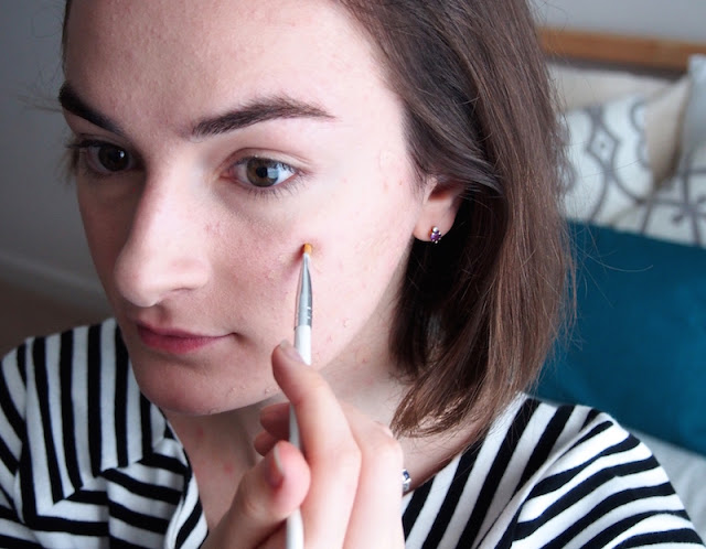how to cover blemishes