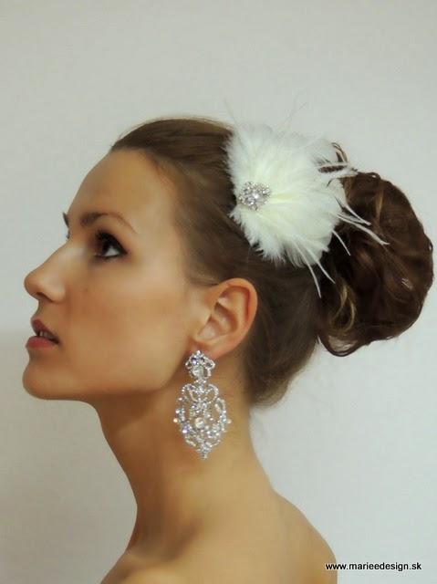 a2b990dba Svadobné závoje, šperky a doplnky : Svadobné ozdoby do vlasov