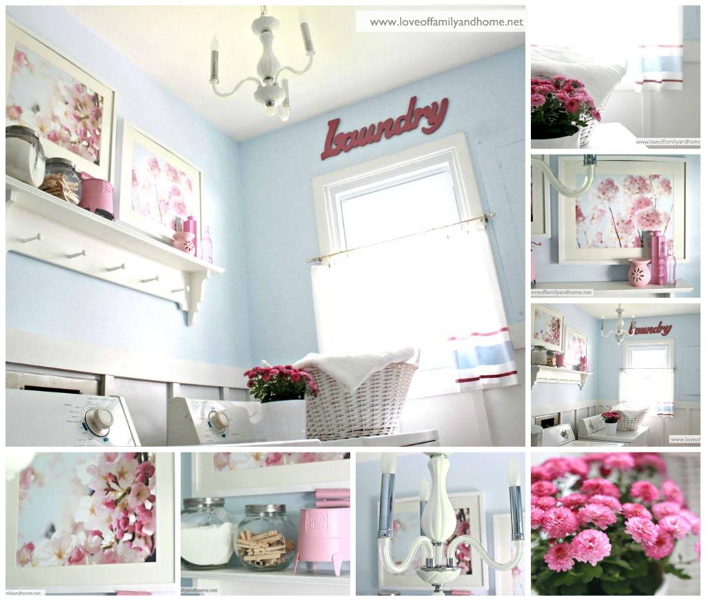 Laundry Room: Laundry Room Reveal {Take 2}