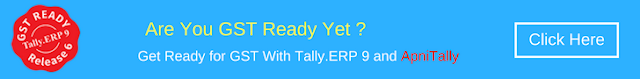 Be GST Ready with ApniTally and Tally.ERP 9