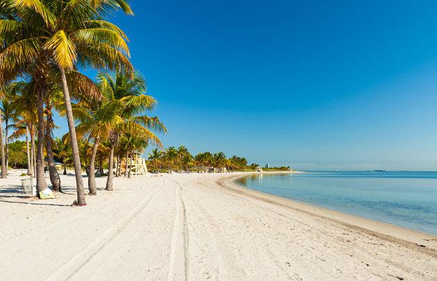 Praias paradisíacas em Miami