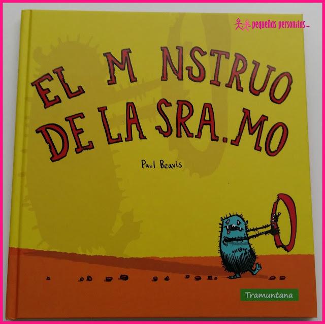 club de lectura, el monstruo de la sra Mo, Boolino, libros, libros infantiles, cuentos, humor, valores, monstruos, editorial Tramuntana