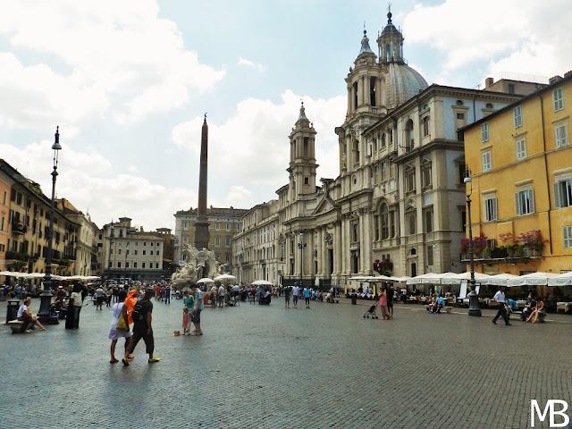 piazza navona roma in un giorno