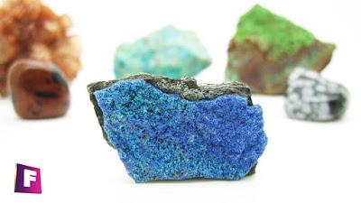 Minerales en 360º grados ? algunos minerales de referencia