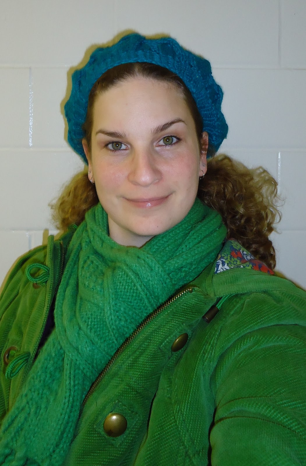 52536769f79aa Wildflower Sunshine  How to Wear a Beret when you have Crazy Curly Hair