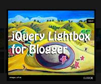 jquery lightbox, blogger plugins