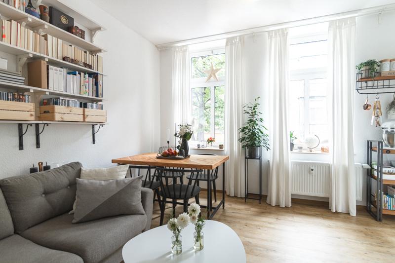 Wohnzimmer Style wonderblue wohnzimmer im hyggeligen scandi style