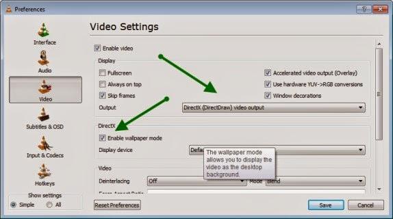 Geek Press How To Set Video As A Desktop Wallpaper Using