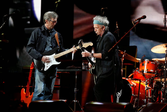 MusicTelevision.Com presents highlights from Eric Clapton's Crossroads Guitar Fest 2013