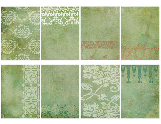 atc collage sheet lace romantic grunge wedding printable clipart