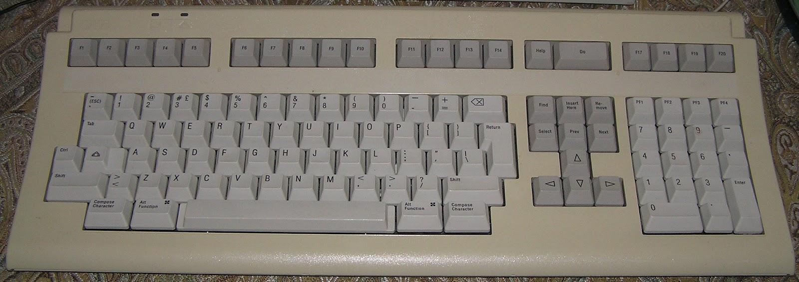 An LK401 keyboard